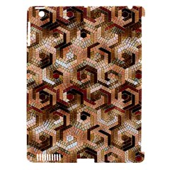 Pattern Factory 23 Brown Apple iPad 3/4 Hardshell Case (Compatible with Smart Cover)