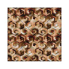 Pattern Factory 23 Brown Acrylic Tangram Puzzle (6  x 6 )