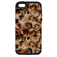 Pattern Factory 23 Brown Apple iPhone 5 Hardshell Case (PC+Silicone)