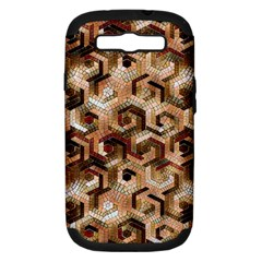 Pattern Factory 23 Brown Samsung Galaxy S III Hardshell Case (PC+Silicone)