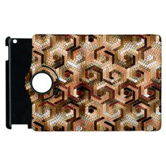 Pattern Factory 23 Brown Apple iPad 2 Flip 360 Case