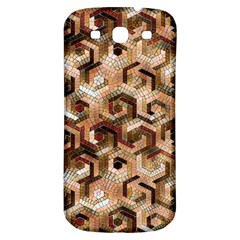 Pattern Factory 23 Brown Samsung Galaxy S3 S III Classic Hardshell Back Case