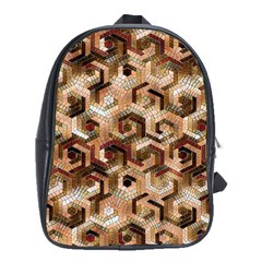 Pattern Factory 23 Brown School Bags (XL)