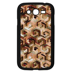 Pattern Factory 23 Brown Samsung Galaxy Grand DUOS I9082 Case (Black)