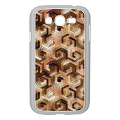 Pattern Factory 23 Brown Samsung Galaxy Grand DUOS I9082 Case (White)