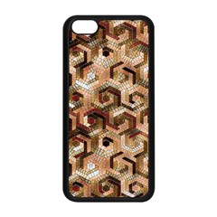 Pattern Factory 23 Brown Apple iPhone 5C Seamless Case (Black)