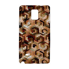 Pattern Factory 23 Brown Samsung Galaxy Note 4 Hardshell Case