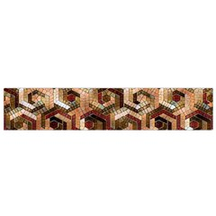 Pattern Factory 23 Brown Flano Scarf (Small)