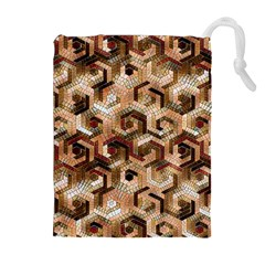 Pattern Factory 23 Brown Drawstring Pouches (Extra Large)