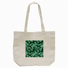 Pattern Factory 23 Teal Tote Bag (Cream)