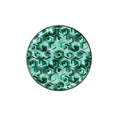 Pattern Factory 23 Teal Hat Clip Ball Marker