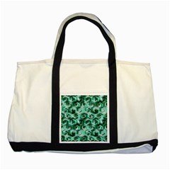 Pattern Factory 23 Teal Two Tone Tote Bag