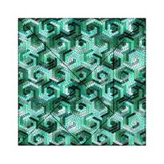 Pattern Factory 23 Teal Acrylic Tangram Puzzle (6  x 6 )