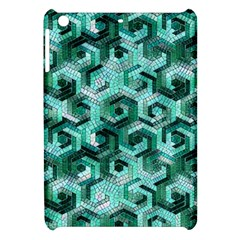 Pattern Factory 23 Teal Apple iPad Mini Hardshell Case