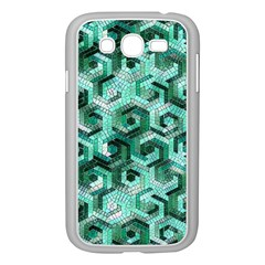 Pattern Factory 23 Teal Samsung Galaxy Grand DUOS I9082 Case (White)