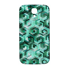 Pattern Factory 23 Teal Samsung Galaxy S4 I9500/I9505  Hardshell Back Case
