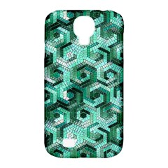 Pattern Factory 23 Teal Samsung Galaxy S4 Classic Hardshell Case (pc+silicone)