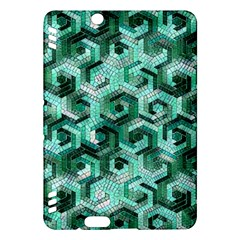 Pattern Factory 23 Teal Kindle Fire HDX Hardshell Case