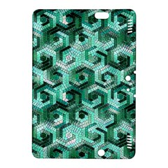 Pattern Factory 23 Teal Kindle Fire Hdx 8 9  Hardshell Case