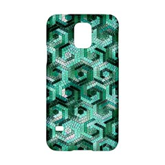 Pattern Factory 23 Teal Samsung Galaxy S5 Hardshell Case