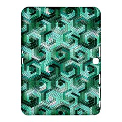 Pattern Factory 23 Teal Samsung Galaxy Tab 4 (10.1 ) Hardshell Case