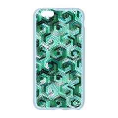 Pattern Factory 23 Teal Apple Seamless iPhone 6/6S Case (Color)