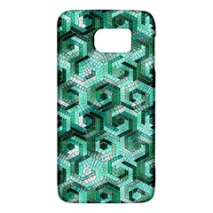 Pattern Factory 23 Teal Galaxy S6