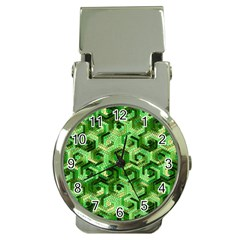 Pattern Factory 23 Green Money Clip Watches