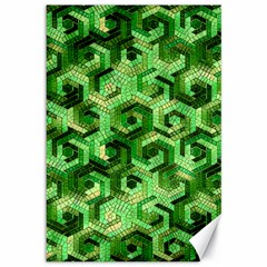 Pattern Factory 23 Green Canvas 12  x 18