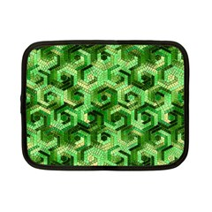 Pattern Factory 23 Green Netbook Case (Small)