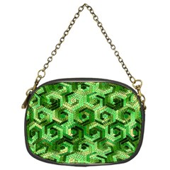 Pattern Factory 23 Green Chain Purses (One Side)