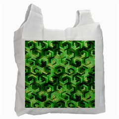 Pattern Factory 23 Green Recycle Bag (One Side)