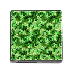 Pattern Factory 23 Green Memory Card Reader (Square)