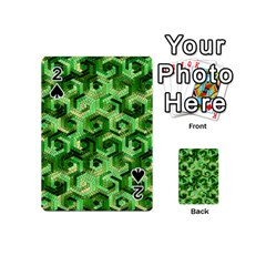 Pattern Factory 23 Green Playing Cards 54 (Mini)