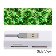 Pattern Factory 23 Green Memory Card Reader (Stick)