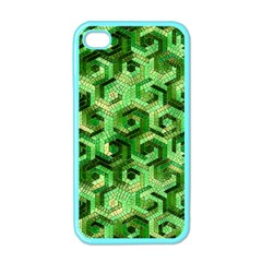 Pattern Factory 23 Green Apple iPhone 4 Case (Color)