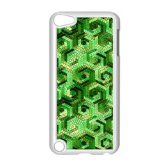 Pattern Factory 23 Green Apple iPod Touch 5 Case (White)