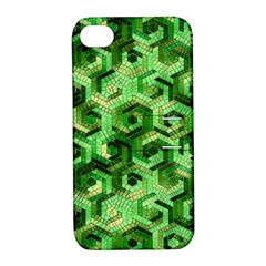 Pattern Factory 23 Green Apple iPhone 4/4S Hardshell Case with Stand