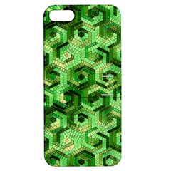 Pattern Factory 23 Green Apple iPhone 5 Hardshell Case with Stand