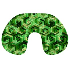 Pattern Factory 23 Green Travel Neck Pillows