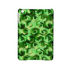 Pattern Factory 23 Green iPad Mini 2 Hardshell Cases