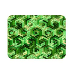 Pattern Factory 23 Green Double Sided Flano Blanket (Mini)