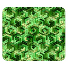 Pattern Factory 23 Green Double Sided Flano Blanket (Small)