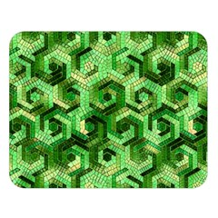 Pattern Factory 23 Green Double Sided Flano Blanket (Large)