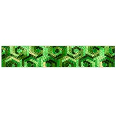 Pattern Factory 23 Green Flano Scarf (Large)