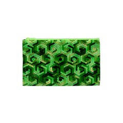 Pattern Factory 23 Green Cosmetic Bag (XS)