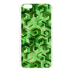 Pattern Factory 23 Green Apple Seamless iPhone 6 Plus/6S Plus Case (Transparent)