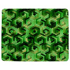 Pattern Factory 23 Green Jigsaw Puzzle Photo Stand (Rectangular)