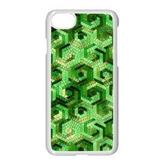 Pattern Factory 23 Green Apple iPhone 7 Seamless Case (White)