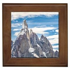 Cerro Torre Parque Nacional Los Glaciares  Argentina Framed Tiles